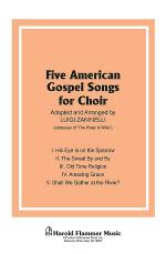 Five American Gospel Songs Sheet Music