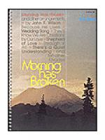 Morning Has Broken (For Piano) Sheet Music