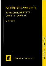 String Quartets Op. 12 and 13 Sheet Music