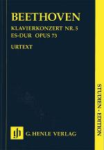 Concerto for Piano and Orchestra E Flat Major Op. 73, No. 5 Sheet Music