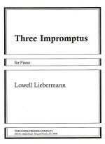 Three Impromptus Sheet Music