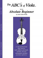 The ABCs of Viola for the Absolute Beginner - Book 1 Sheet Music
