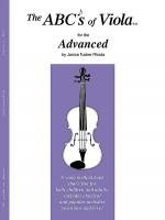 The ABC's of Viola for the Advanced - Book 3 Sheet Music