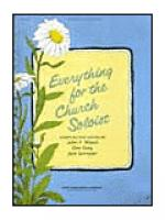 Everything For The Church Soloist Sheet Music