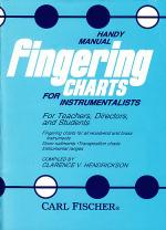 Handy Manual Fingering Charts for Instrumentalists Sheet Music