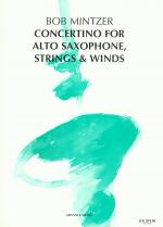 Concertino For Alto Saxophone, Strings & Winds Sheet Music