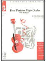 No. 1, First Position Major Scales Sheet Music
