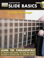 Acoustic Guitar Slide Basics - Book/CD Sheet Music