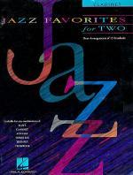 Jazz Favorites For Two - Clarinet Sheet Music