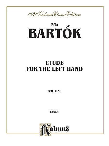 Etude for Left Hand Sheet Music