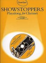 Guest Spot: Showstoppers Playalong for Clarinet Sheet Music