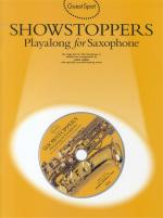 Guest Spot: Showstoppers Playalong For Saxophone Sheet Music