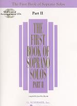 The First Book of Soprano Solos - Part II (Book/CDs) Sheet Music