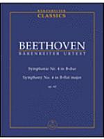 Symphonie Nr. 4 B-Dur op. 60 Sheet Music