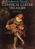 Classical Guitar Treasury - Solo Guitar Sheet Music