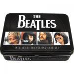 Playing Cards: The Beatles - 2 Decks With Tin Sheet Music
