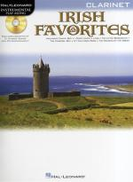 Instrumental Playalong: Irish Favourites - Clarinet Sheet Music
