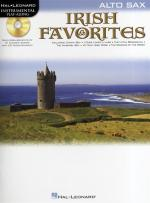 Instrumental Playalong: Irish Favourites - Alto Saxophone Sheet Music