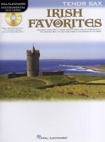 Instrumental Playalong: Irish Favourites - Tenor Saxophone Sheet Music