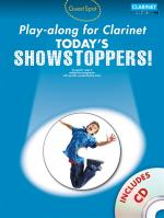 Guest Spot Playalong For Clarinet: Today's Showstoppers Sheet Music