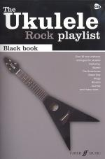 The Ukulele Rock Playlist: Black Book Sheet Music
