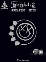blink-182: Greatest Hits (Guitar Recorded Versions) Sheet Music