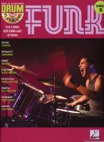 Drum Play-Along Volume 5: Funk Sheet Music