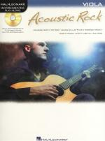 Instrumental Play-Along: Acoustic Rock (Viola) Sheet Music