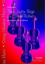 Three Joplin Rags - Violin Quartet Sheet Music
