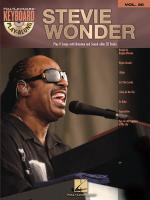 Keyboard Play-Along Volume 20: Stevie Wonder Sheet Music