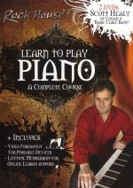 The Rock House Method: Learn To Play Piano - A Complete Course Sheet Music