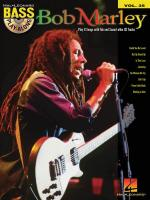 Bass Play-Along Volume 35: Bob Marley Sheet Music