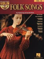 Violin Play-Along Volume 16: Folk Songs Sheet Music