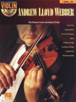 Violin Play-Along Volume 21: Andrew Lloyd Webber Sheet Music