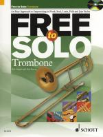 Rob Hughes/Paul Harvey: Free To Solo - Trombone Sheet Music