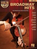Violin Play-Along Volume 22: Broadway Hits Sheet Music