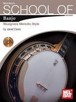 School of Banjo: Bluegrass Melodic Style Book/2-CD Set Sheet Music