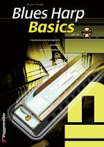 Blues Harp Basics, English Edition Book/CD Set Sheet Music