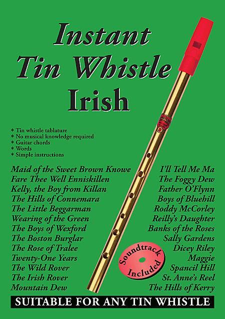 Instant Tin Whistle - Irish Book/CD Set Sheet Music