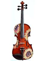 Sunflower Delight Natural Violin Outfit - Size 1/4 Sheet Music