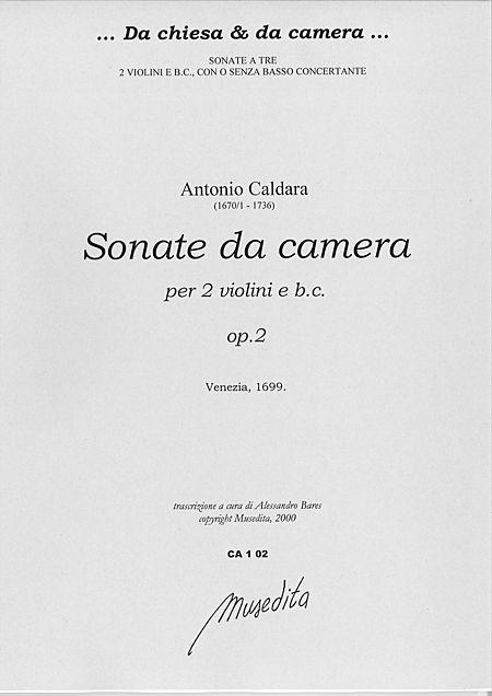 Sonate da camera op. 2 (Venezia, 1699) Sheet Music