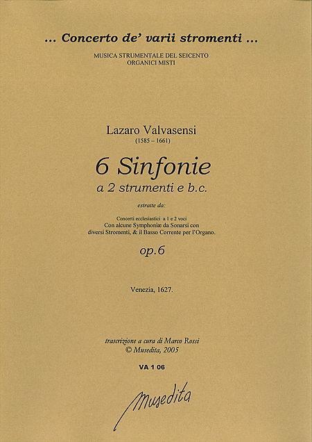 6 Sinfonie (Venezia, 1627) Sheet Music