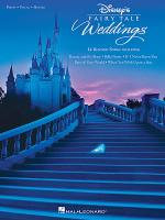 Disney's Fairy Tale Weddings Sheet Music