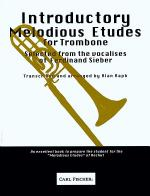 Introductory Melodious Etudes for Trombone Sheet Music