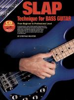Progressive Slap Technique for Bass Guitar (Book/CD) Sheet Music
