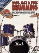Progressive Rock Jazz Funk Drumming (Book/CD) Sheet Music