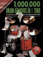 Progressive 1 Million Drum Grooves (Book/CD) Sheet Music