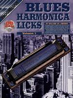 Progressive Blues Harmonica Licks 1 (Book/CD) Sheet Music