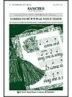 Sanctus (From Messe Basse) Sheet Music