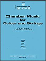 Chamber Music For Guitar and Strings Sheet Music